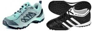 кроссовки для ходьбы  и футбола