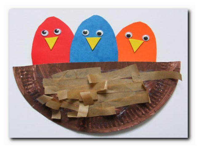 птички ручное творчество