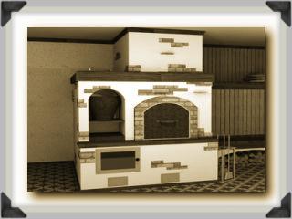 строительство печи дом