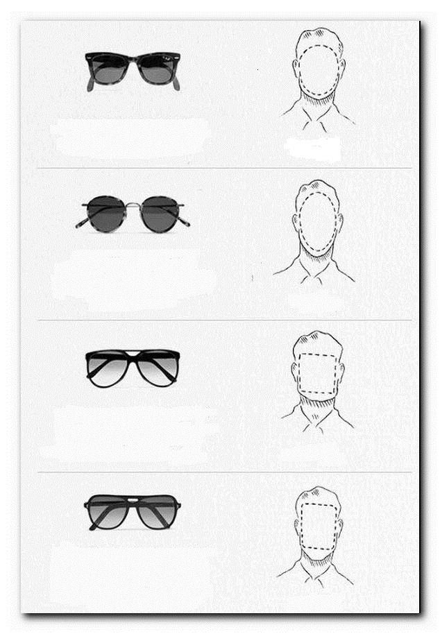 выбор очков по форме лица мужчине