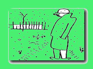 грусть садовода