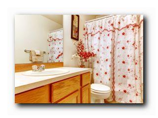 как очистить штору в ванной