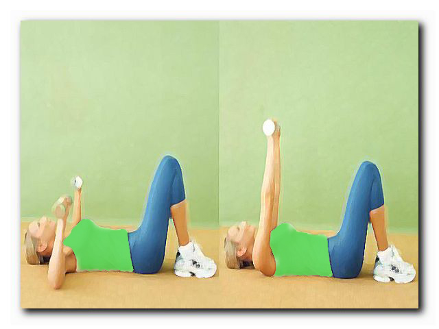 жир с подмышек упражнения