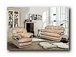 мягкая мебель кожаные диваны