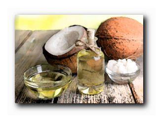 маска роста волос кокосового масла