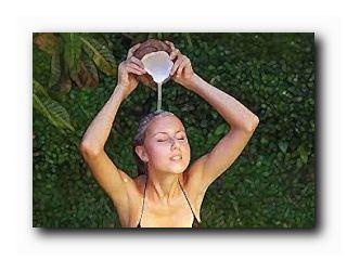 рецепт домашнего шампуня кокос