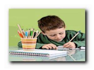 процесс обучения письму