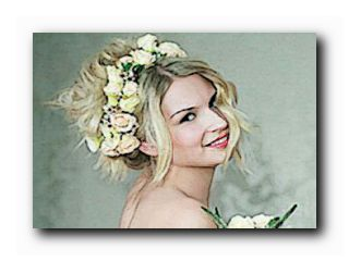 свадебные венки из живых цветов