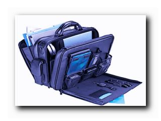 в чем носить ноутбук