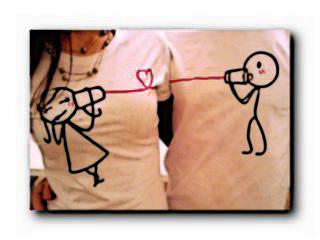 футболки для пары влюбленных