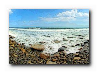 крым лето море