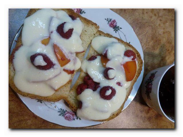 фруктовый бутерброд рецепт