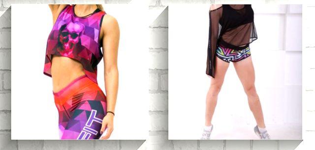 магазин одежды для фитнеса