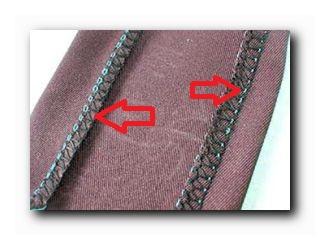 швы швейных изделий