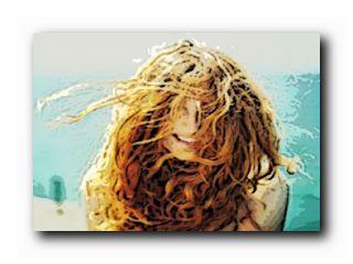 сухие волосы после моря