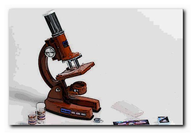 зачем дома микроскоп
