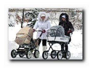 выбор зимней коляски