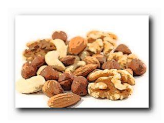 орехи богатые белком