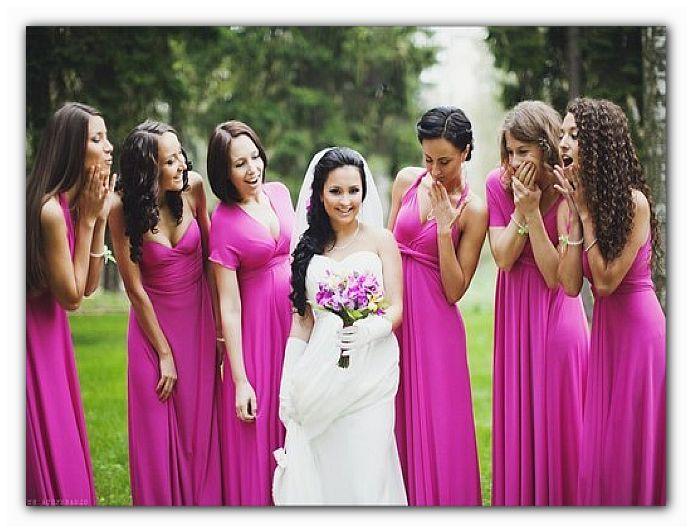 платье подружке невесты