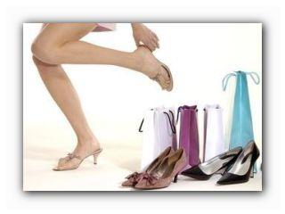 правильная примерка обуви