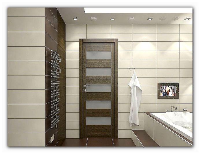 двери для ванной из массива сосны