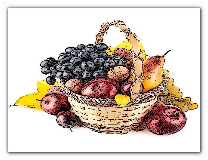 польза фруктов разного цвета