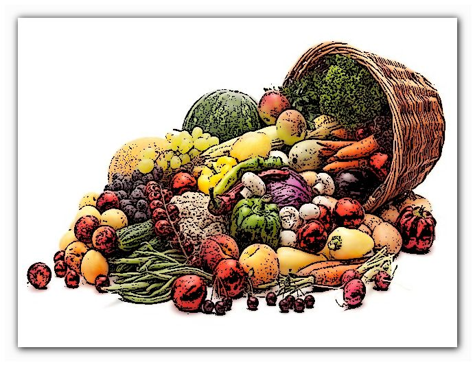 польза овощей разного цвета