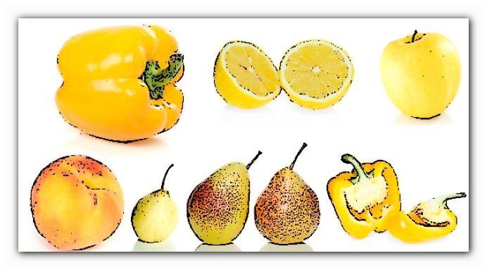польза желтых фруктов и овощей