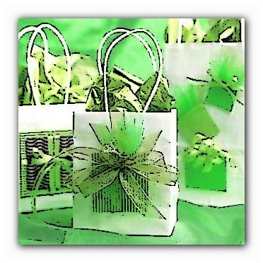 красивая подарочная сумка