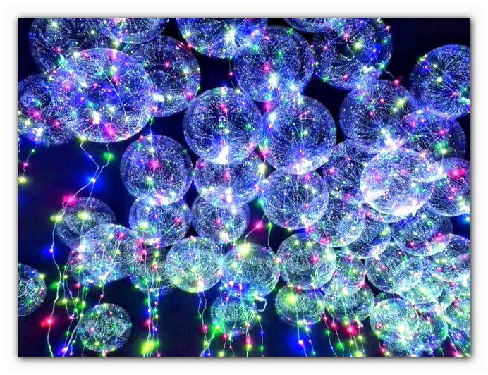 шары воздушные светящиеся