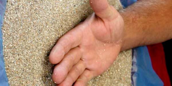польза горячего песка